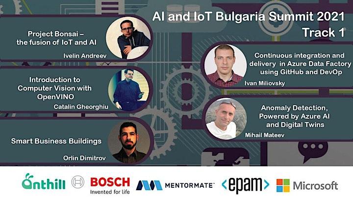 AI and IoT Bulgaria Summit 2021 image