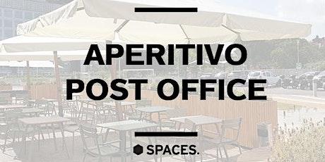 Spaces Laurentina | Aperitivo Post Office biglietti