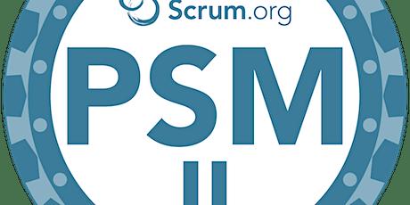 Scrum.org Advanced Professional Scrum Master  (PSM II) billets