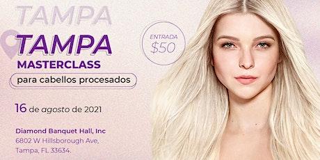 Cadiveu Professional MasterClass Tampa - Todo sobre cabellos procesados entradas