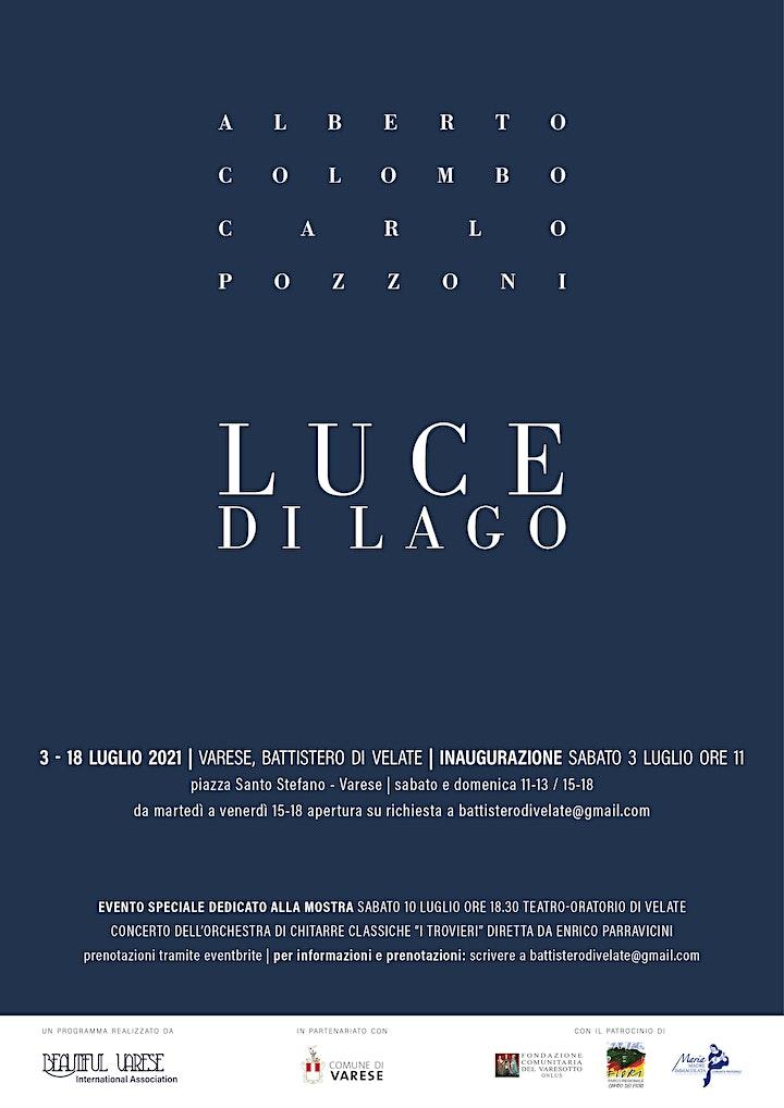 Immagine Luce di lago. Concerto dei Trovieri a Varese, Teatro-Oratorio di Velate