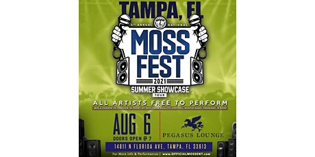 MOSS FEST SUMMER SHOWCASE TOUR : TAMPA FL tickets