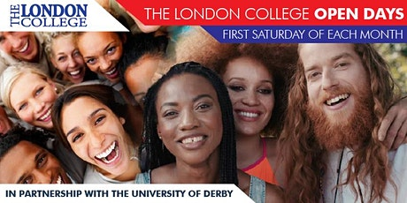 The London College Open Day tickets