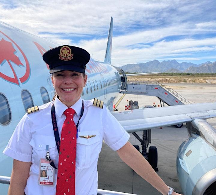 STEM Speaker Series - Laura Cayley- Air Canada Pilot image