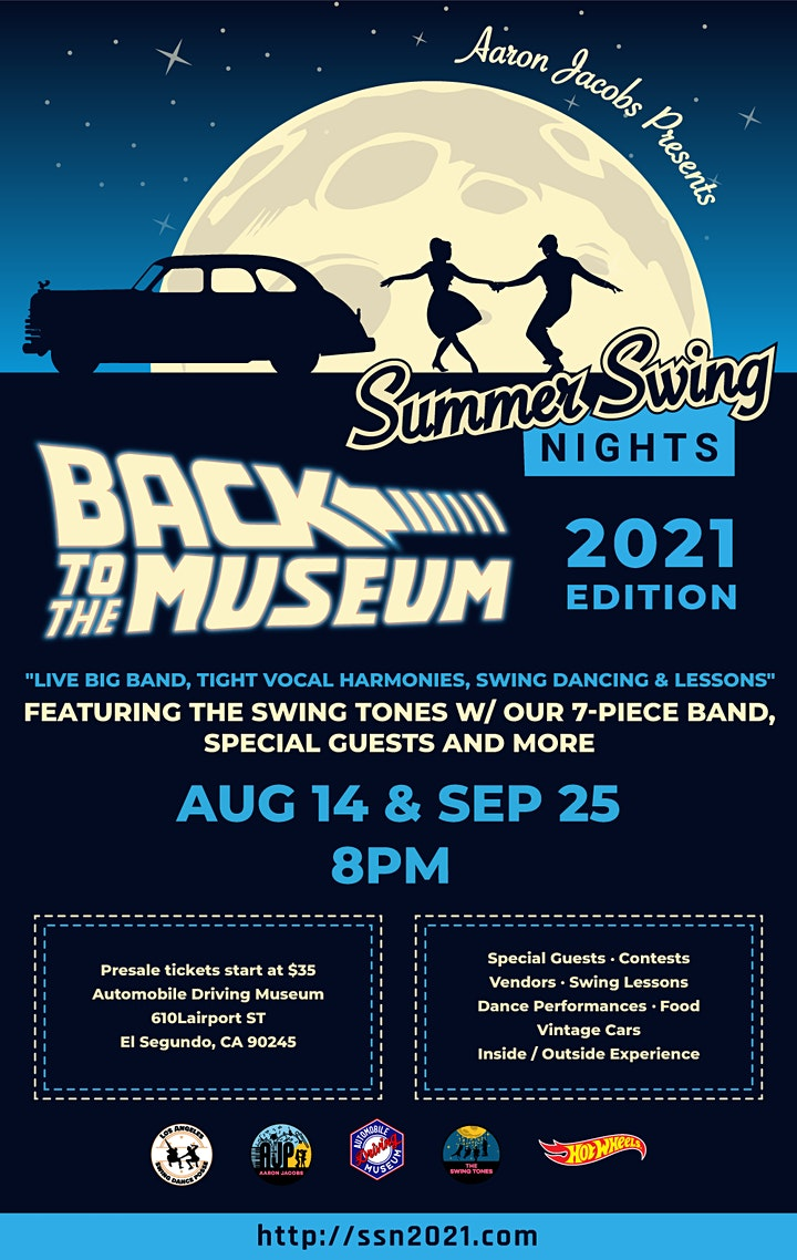 Summer Swing Nights 2021 - BACK TO THE MUSEUM Edition image