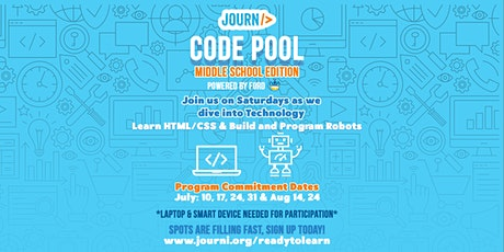 Code Pool - coding and building robots tickets