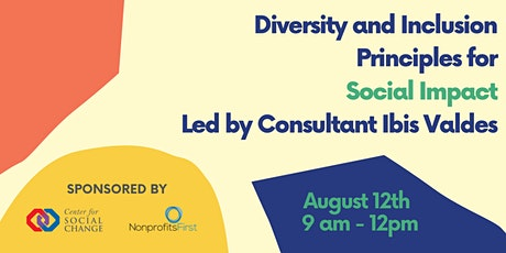 Diversity and Inclusion Principles for Social Impact tickets