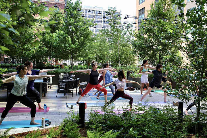 Yoga & Brunch in the Courtyard at The Smith image