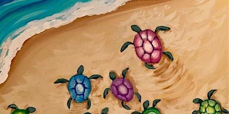 Teen Art Night -Paint Migrating Baby Turtles tickets