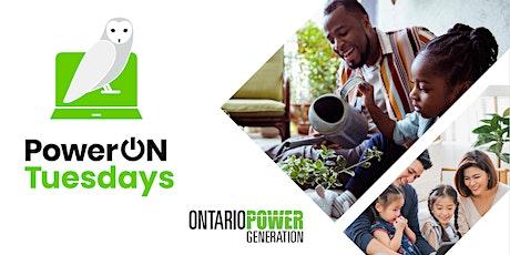 OPG's PowerON Tuesdays - August 10 (Clarington) tickets