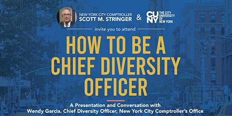 How to be a Chief Diversity Officer tickets