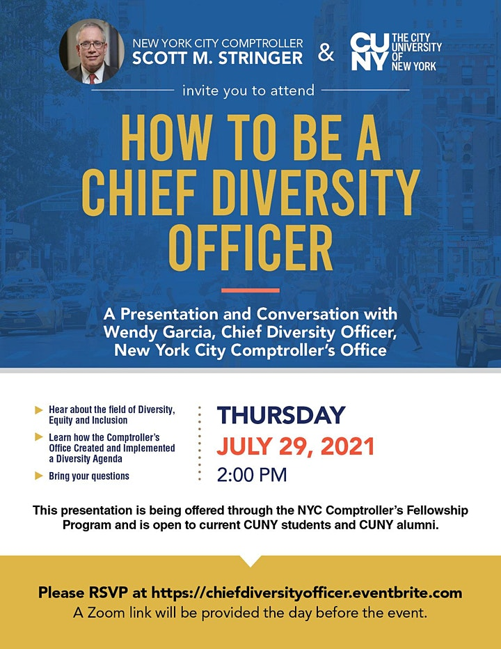 How to be a Chief Diversity Officer image