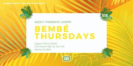 Caribbean Dance Class - Bembé Thursdays tickets