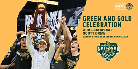 2021 NCAA Basketball Champion Head Coach Scott Drew of Baylor University tickets