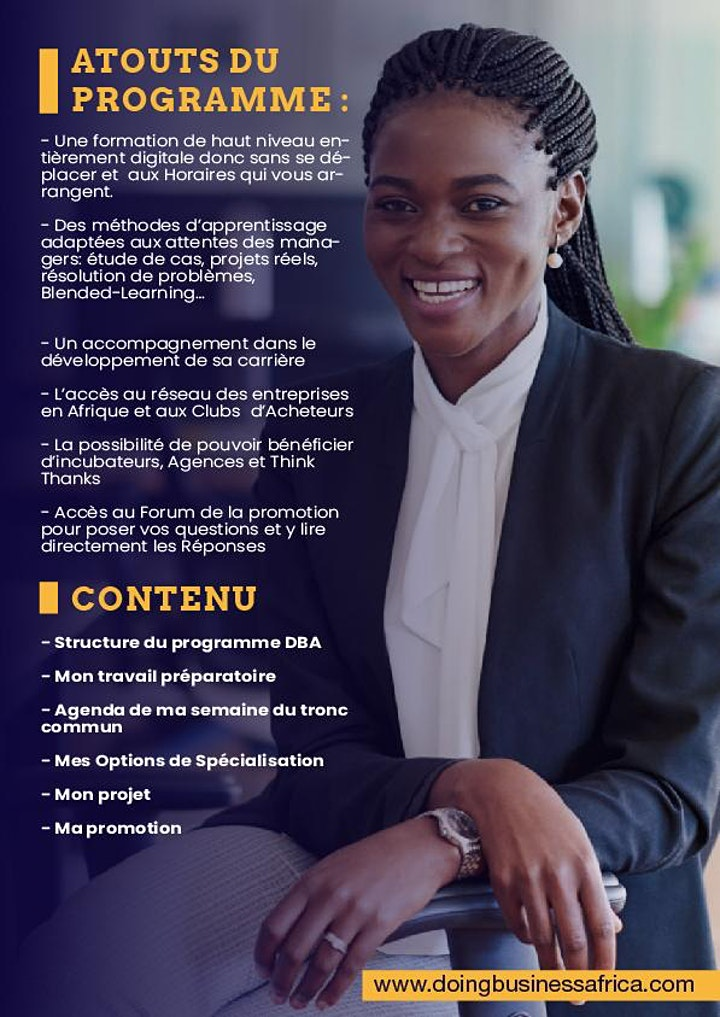 Image pour Doing Business Africa