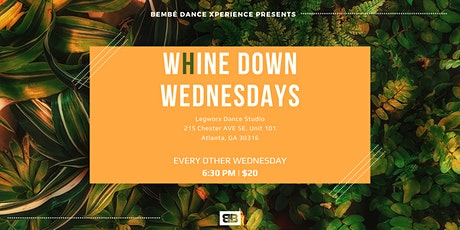 Caribbean Dance Class - W(h)ine Down Wednesdays tickets