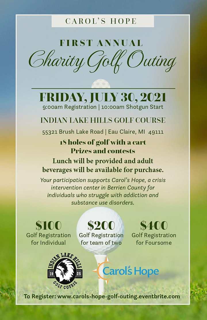 Carol's Hope  First Annual Charity Golf Outing image