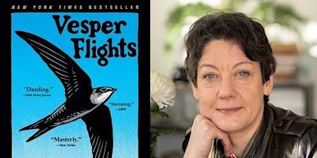 Helen Macdonald, Vesper Flights tickets