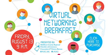 August 13th Virtual Networking Breakfast tickets