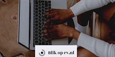 Online training curriculum vitae schrijven en vormgeven tickets