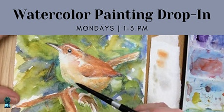 Watercolor Painting Drop-In tickets