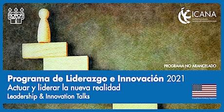 Leadership & Innovation Talks 2021 boletos