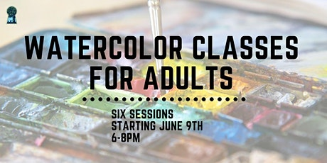 Watercolor Classes for Adults: Intermediate tickets
