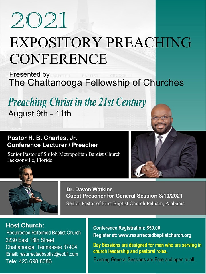 2021 Expository Preaching Conference image