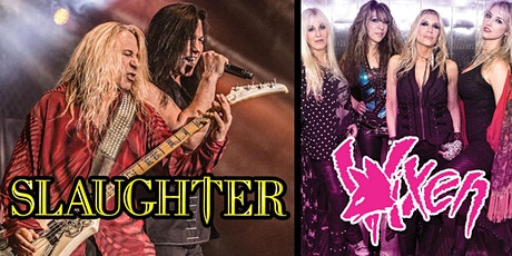 Slaughter with special guest Vixen tickets