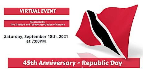The Trinidad and Tobago Association of Ottawa - Republic Day Celebration tickets