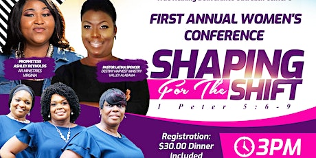 Shaping For the Shift Women's Conference tickets