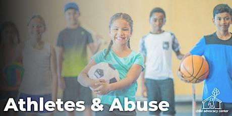 Athletes & Abuse Training tickets