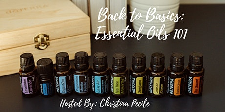 Back to Basics Essential Oils 101 tickets