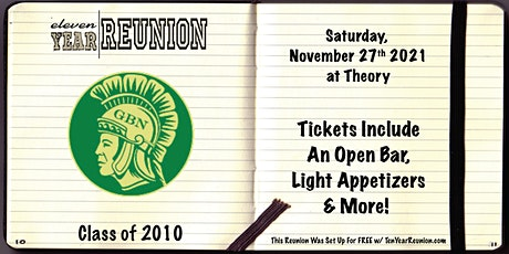 Glenbrook North Class of 2010: Eleven Year Reunion! tickets