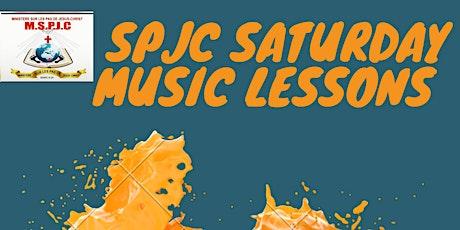 SSML (SPJC.SATURDAY.MUSIC.LESSONS) tickets