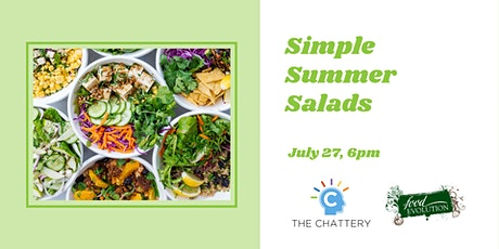 Simple Summer Salads - IN-PERSON CLASS tickets