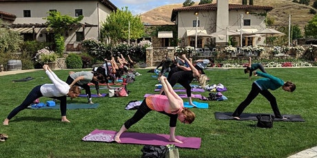Yoga in the Vines® at Clos LaChance Winery tickets