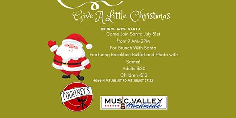 Give  A Little Christmas-Brunch With Santa tickets