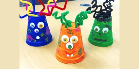30min Learn to Craft: Silly Monsters  @2PM (Ages 5+) tickets
