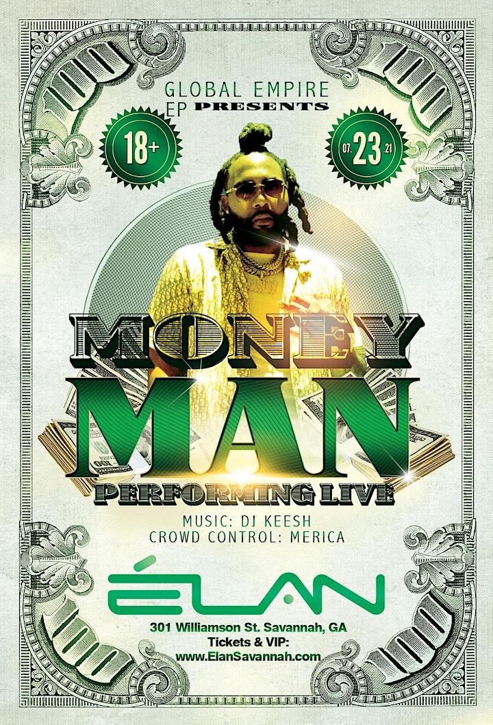 Money Man Live at Elan Savannah (Fri, Jul 23rd) image