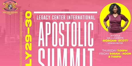 Apostolic Summit tickets