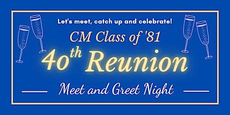 Class of 81 Meet & Greet tickets