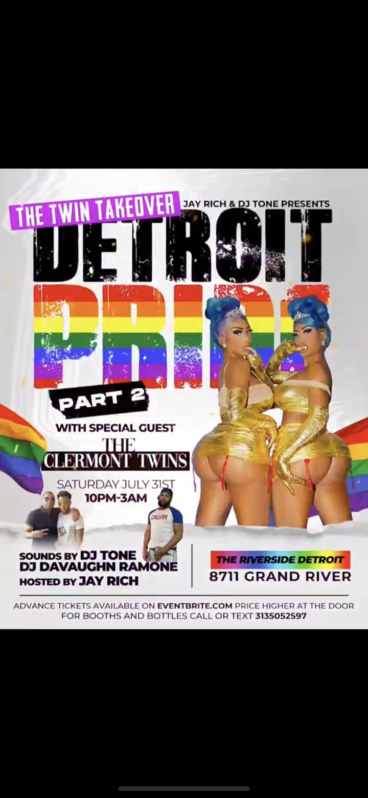 Detroit Pride Part 2 with The Clermont Twins image