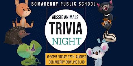 Aussie Animal Trivia Night tickets