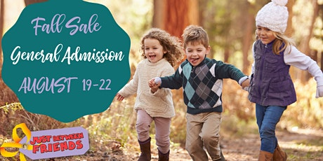 Open to the Public General Admission | JBF Fall Sale 2021 tickets