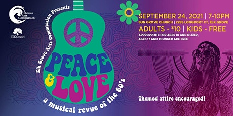 Peace & Love: A Musical Revue of the 60's tickets
