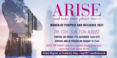 WOPI 2021 - ARISE and TAKE YOUR PLACE - Judges 5:7 tickets