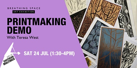 Print Making Demo with Teresa West tickets