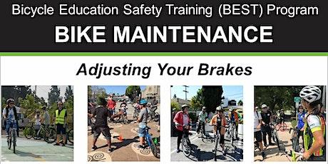 Bike Maintenance: Adjusting Your Brakes - Online Video Class tickets
