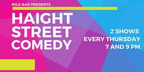 HAIGHT STREET COMEDY: Live Stand-up at Milk Bar tickets